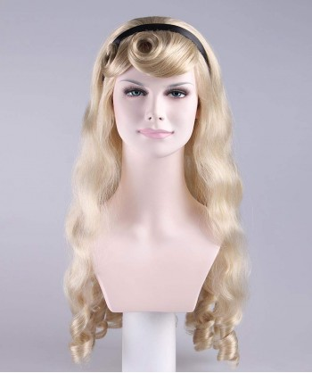 Halloween Party Costume Wig for Cosplay Alice HW-016