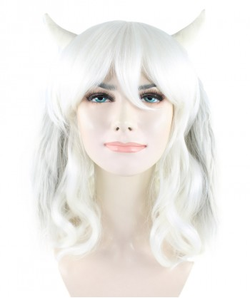Halloween Party Costume (1-2 Days Dispatch) Exclusive! Wig for Cosplay Undertale Asriel HW-1092