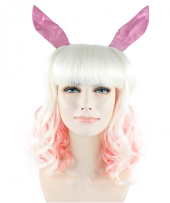 Halloween Party Costume (1-2 Days Dispatch) Easter Bunny Wig HW-1093