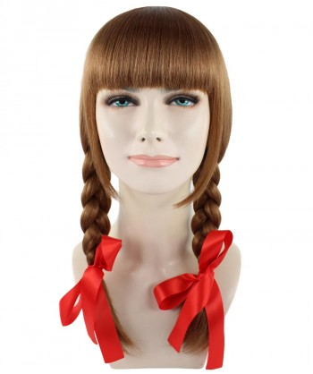 Halloween Party Costume (1-2 Days Dispatch) Exclusive! Wig for Cosplay Annabelle Movie HW-1094