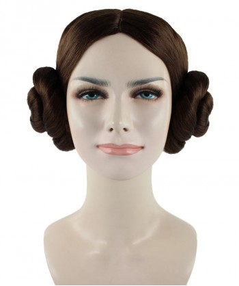 Halloween Party Costume (1-2 Days Dispatch) Wig for Cosplay Star Wars Princess Leia HW-1096