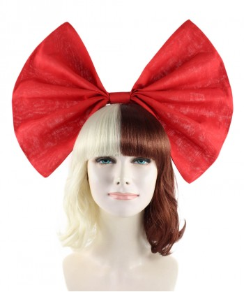 Halloween Party Costume Exclusive! Wig for cosplay Melanie with Red Bow style HW-1097