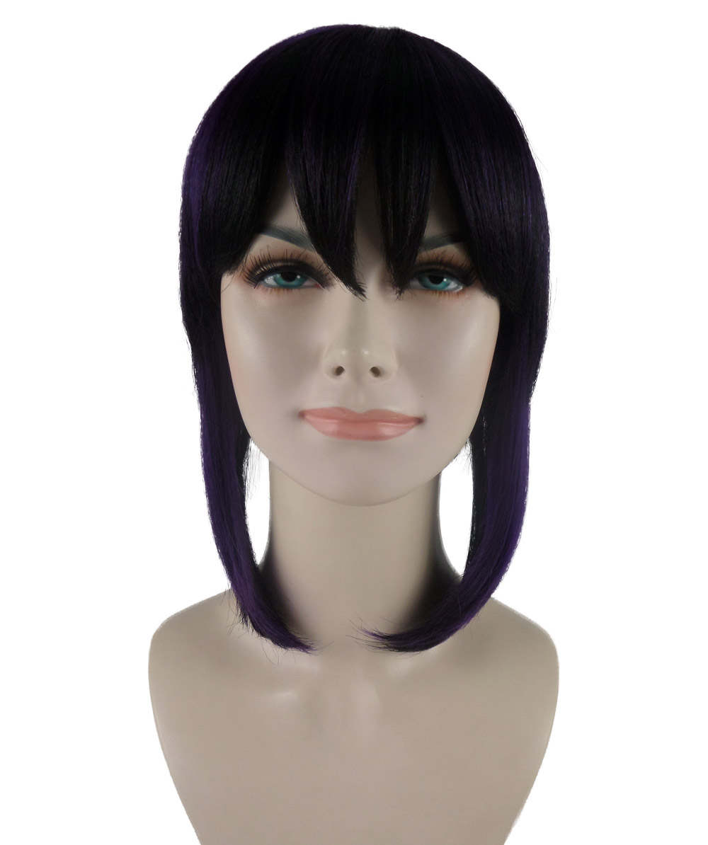 (1-2 Days Dispatch) Exclusive! Wig for Cosplay Ghost in the shell Motoko Kusanagi Style HW-1112