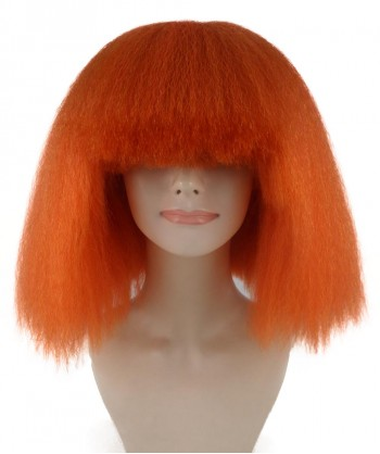 Halloween Party Costume Pop Star Orange Wig HW-1124