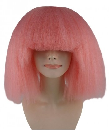 Halloween Party Costume Pop Star Coral Wig - HW-1139