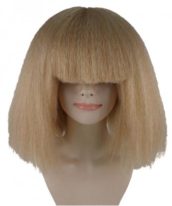 Halloween Party Costume Pop Star Golden Blonde Wig HW-1146