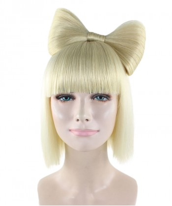 Halloween Party Costume Blonde Butterfly Wig HW-1232