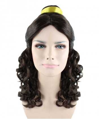 Halloween Party Costume Wig for cosplay Beauty and the beast Belle Prestige HW-1340