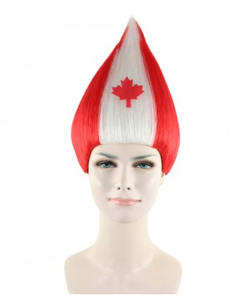 Halloween Party Costume Women's wig for cosplay Canada Troll Style HW-1341