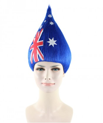 Halloween Party Costume Australia Flag Troll Style HW-1356