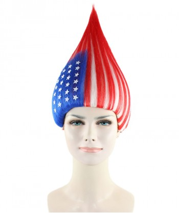 Halloween Party Costume United States Flag Troll Style HW-1357