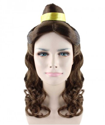 Halloween Party Costume (1-2 Days Dispatch) Wig for Cosplay Beauty and The Beast Belle Prestige II HW-1370