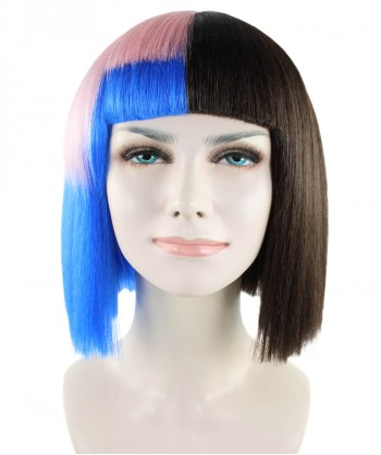 Halloween Party Costume Exclusive! Wig for cosplay Melanie Bob style HW-1387