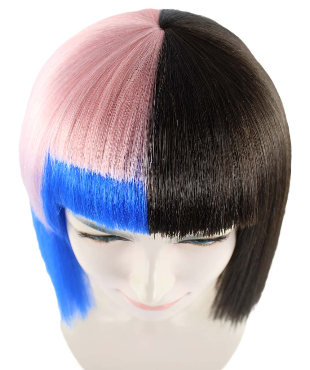 Exclusive! Wig for cosplay Melanie Bob style HW-1387