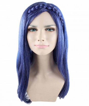 Halloween Party Costume (1-2 Days Dispatch) Adults Women's Wig for Cosplay Descendants 2 Evie HW-1417