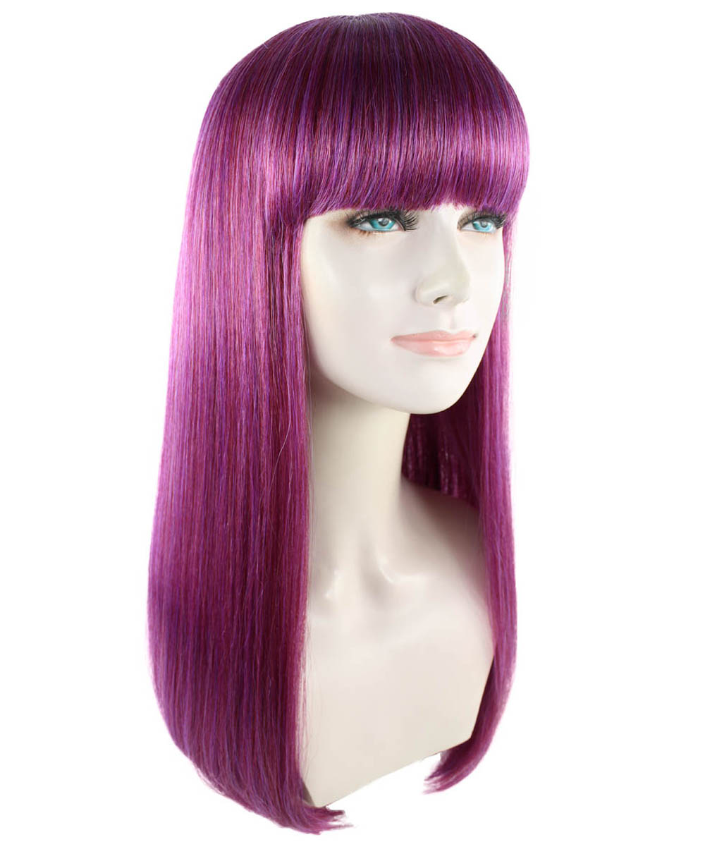 (1-2 Days Dispatch) Adults Women's Wig for Cosplay Descendants 2 Mal HW-1418