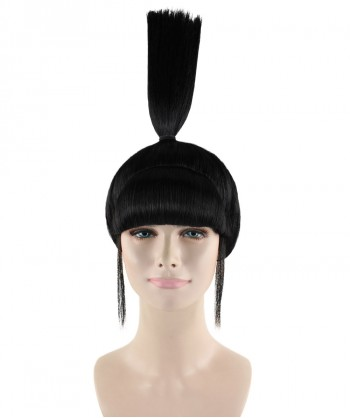 Halloween Party Costume Agnes Wig, Black HW-1435