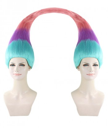 Halloween Party Costume Wig for Cosplay  Twin Troll Style HW-1438