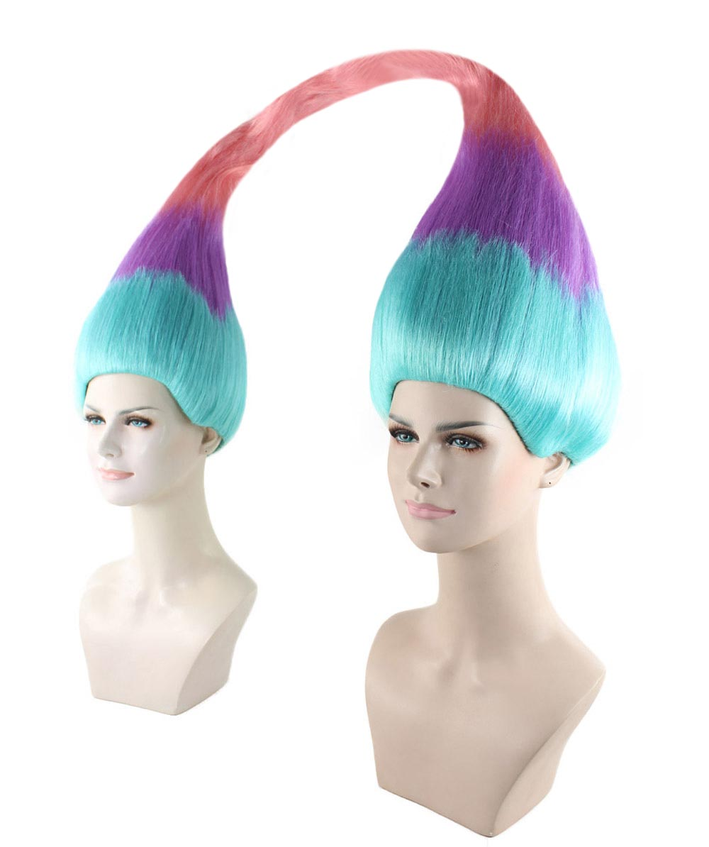 Wig for Cosplay  Twin Troll Style HW-1438