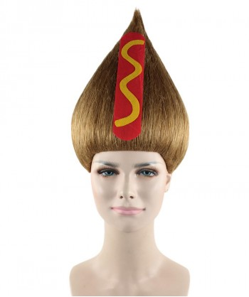 Halloween Party Costume Hot Dog Troll Wig HW-1481