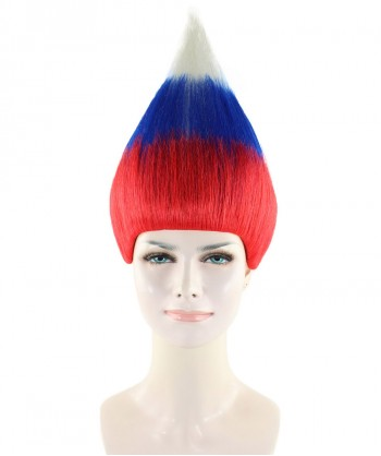 Halloween Party Costume Russia National Flag Wig, HW-1500
