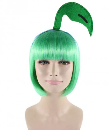 Halloween Party Costume Pokemon Chikorita Wig HW-1501
