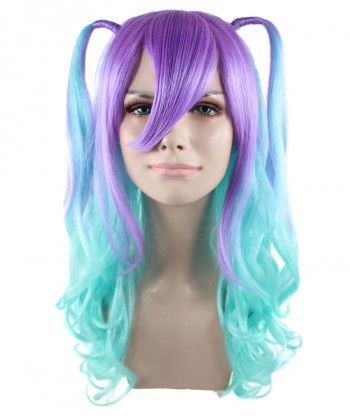 Halloween Party Costume Blue Monster Wig HW-1633