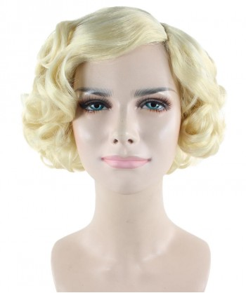 Halloween Party Costume Blonde Jazz Wig HW-1665