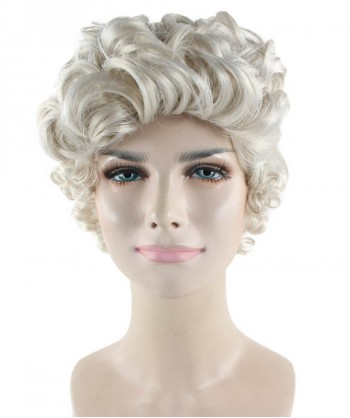 Halloween Party Costume Mrs Claus Wig HW-1666