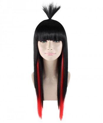 Halloween Party Costume Miss Sinister Wig HW-1707