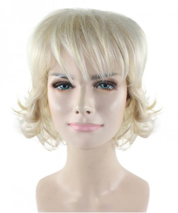 Halloween Party Costume Blond Country Singer Wig HW-1726