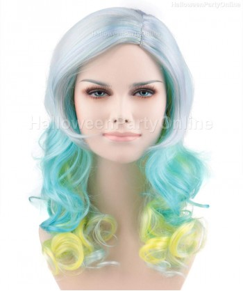 Halloween Party Costume Wig for Singer Perry Magical HW-177