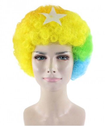 Halloween Party Costume Afro Ken Wig HW-1799