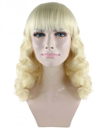 Halloween Party Costume Blonde Pin Up Girl Wig HW-1837