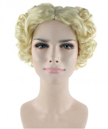 Halloween Party Costume (1-2 Days Dispatch) Wavy Marilyn Wig HW-188