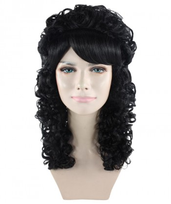 Halloween Party Costume 80's Black Boogie Babe Wig HW-1880