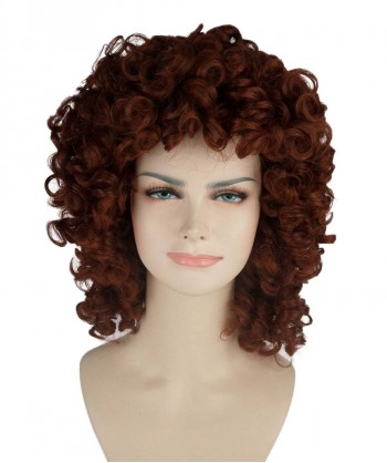 Halloween Party Costume (1-2 Days Dispatch) Brown Olympian Lady Wig HW-225