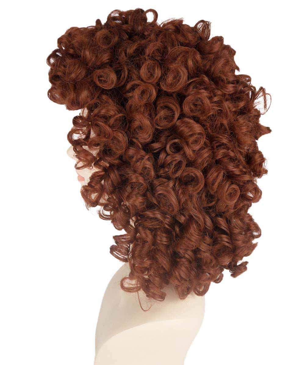 (1-2 Days Dispatch) Brown Olympian Lady Wig HW-225