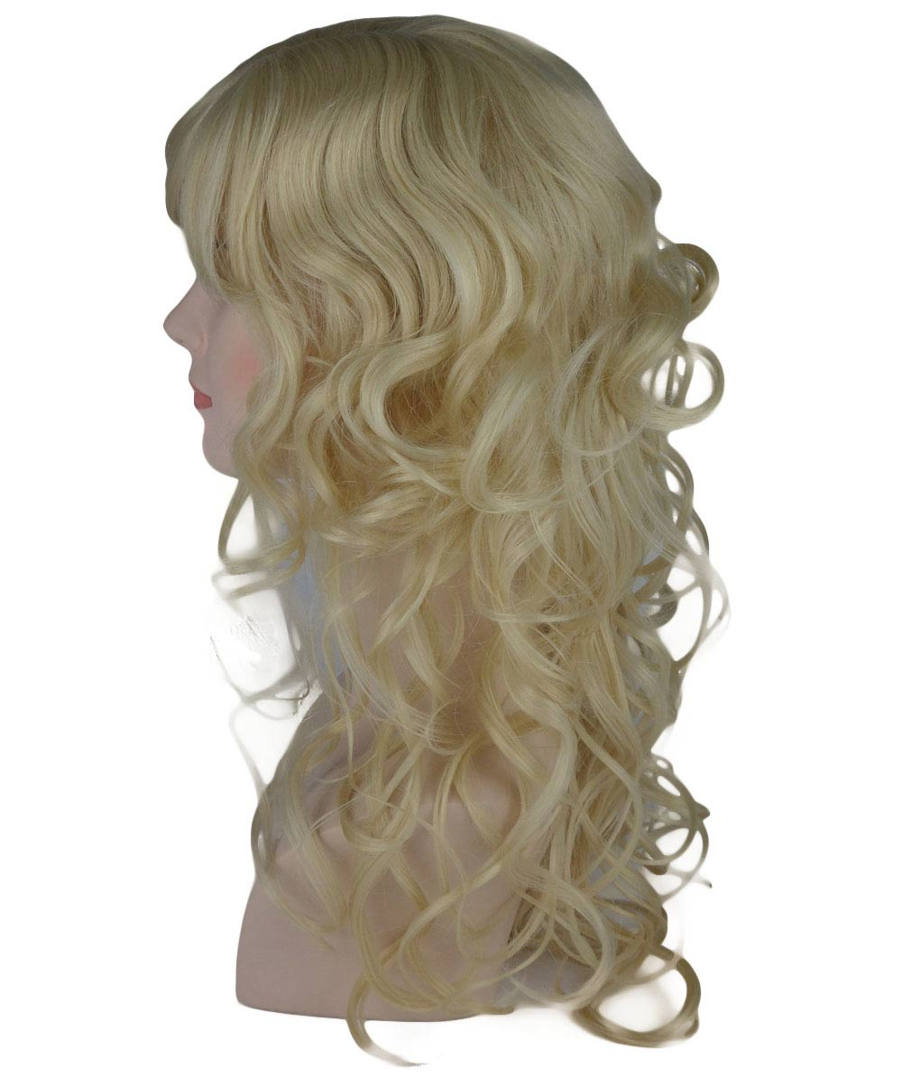 (1-2 Days Dispatch) Blonde Curly Long Wig HW-235