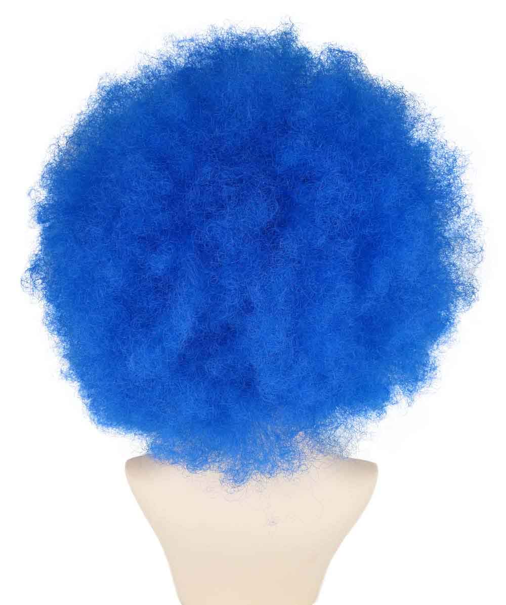 (1-2 Days Dispatch) Blue Afro Clown Wig HW-241