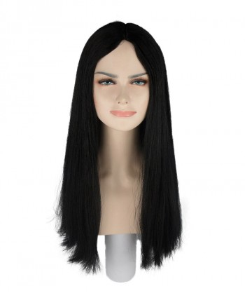Halloween Party Costume (1-2 Days Dispatch) Black Witch Wig HW-244