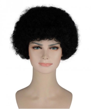 Halloween Party Costume (1-2 Days Dispatch) Black Afro Wig HW-245