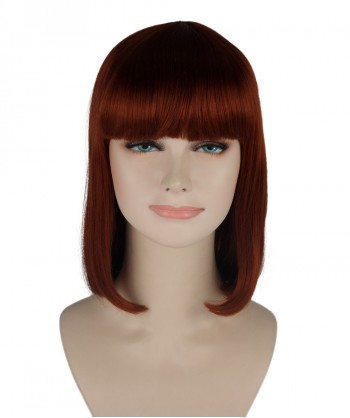 Halloween Party Costume (1-2 Days Dispatch) Brown Medium Bob Wig HW-250