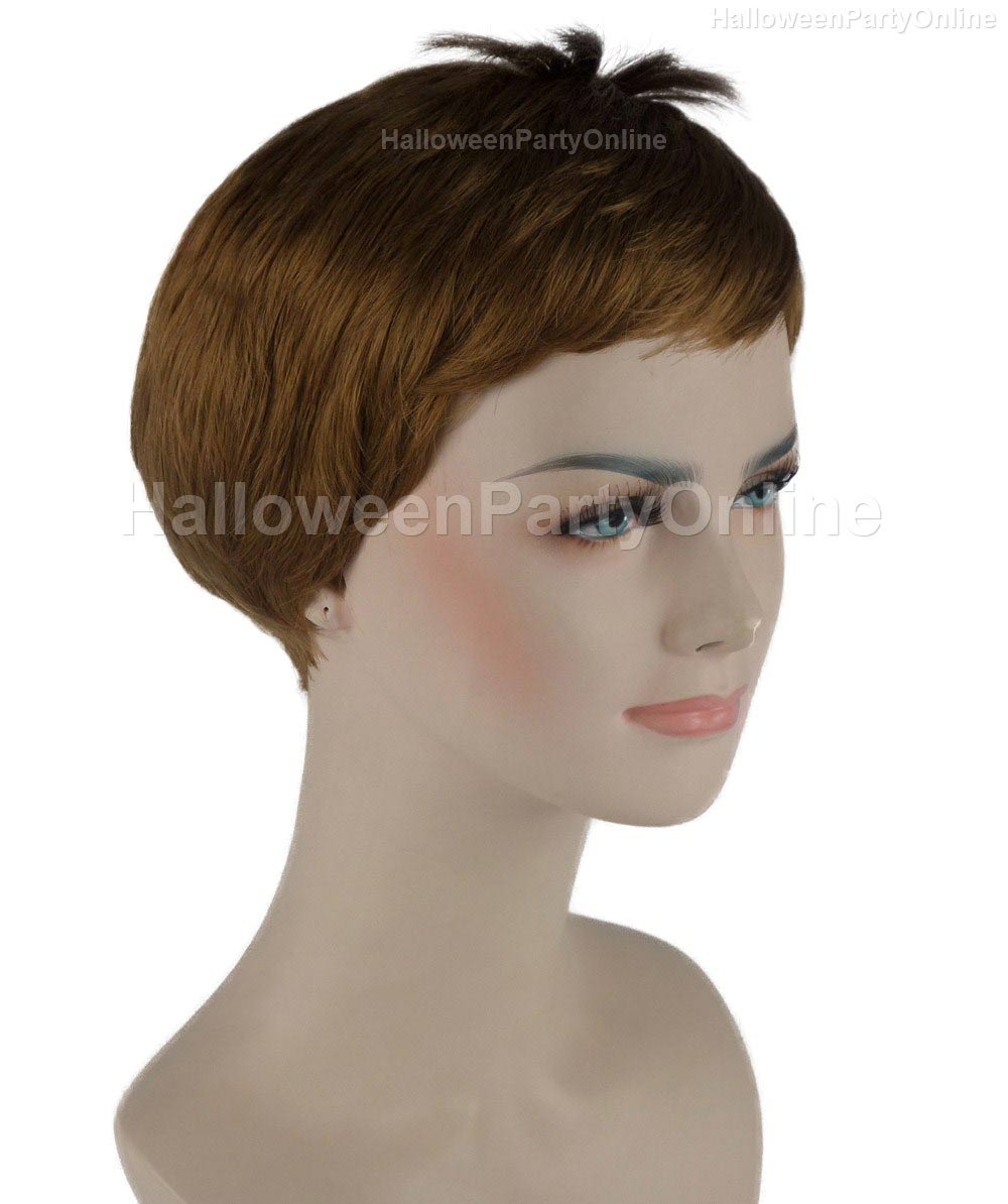 Wig for Cosplay Stork Brown HW-269