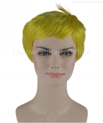 Halloween Party Costume Wig for Cosplay Stork Yellow HW-270