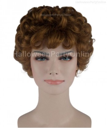 Halloween Party Costume Wig for Cosplay Stork Brown HW-273