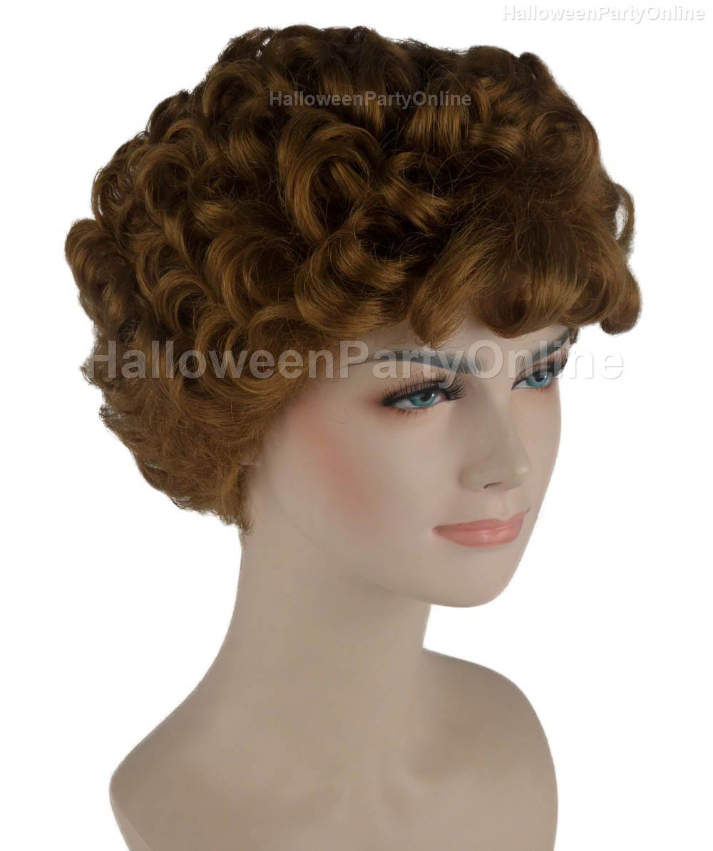 Wig for Cosplay Stork Brown HW-273