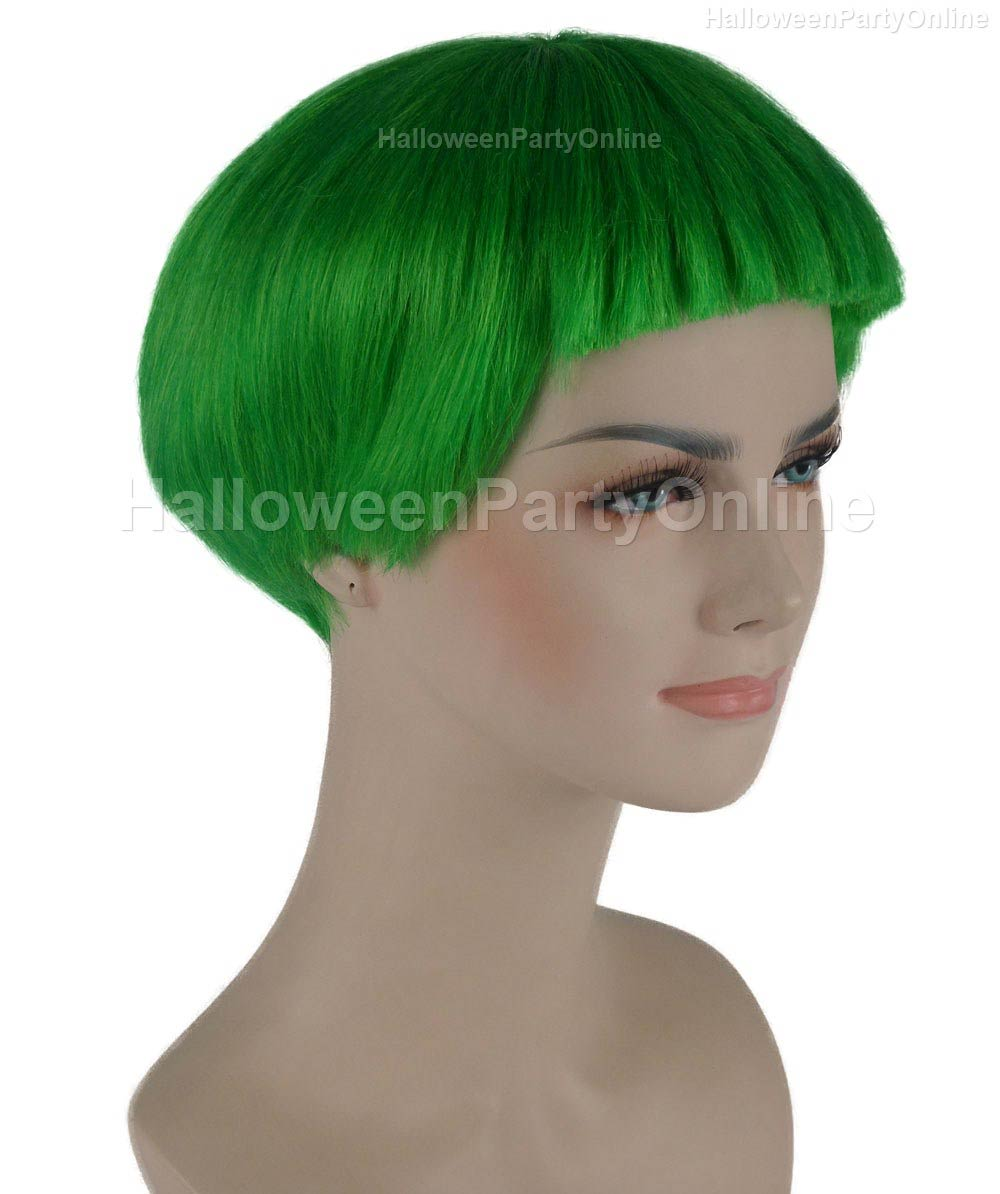 Wig for Cosplay Stork Neon Green HW-275