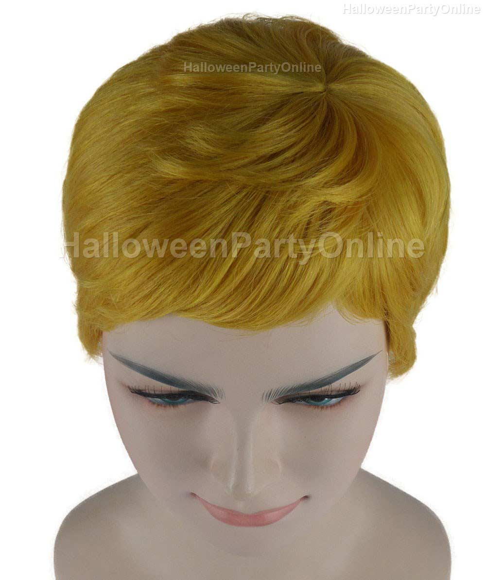 Wig for Cosplay Stork Golden Yellow HW-278