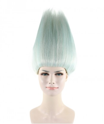 Halloween Party Costume (1-2 Days Dispatch) Wig for Cosplay Troll Silver HW-279